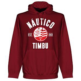 Nautico Established Hoodie - Maroon