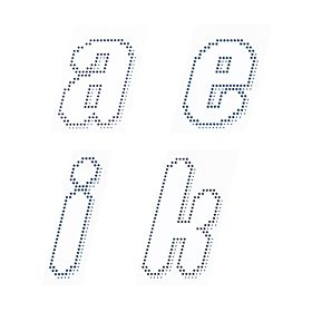 Individual Letters - 08-09 Lazio Official Letter Transfers - White/Navy