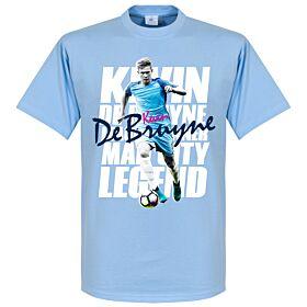 Kevin De Bruyne Legend Tee - Sky