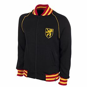 1960's Belgium Retro Track Top - Black