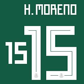 H. Moreno 15