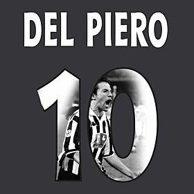 Del Piero 10 (Gallery Style)