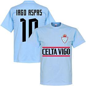 Celta Vigo Iago Aspas 10 Team Tee - Sky