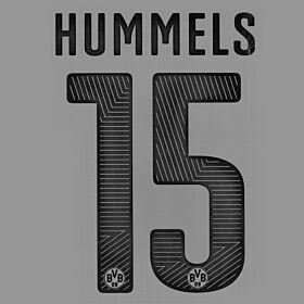 Hummels 15 - Borussia Dortmund Home Official KIDS Name & Number 2014 / 2015