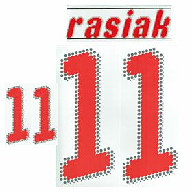 Rasiak No. 11 Poland Home 2008-2009