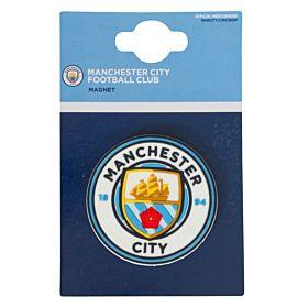 Manchester City Crest 3D Refrigerator Magnet (6cm)