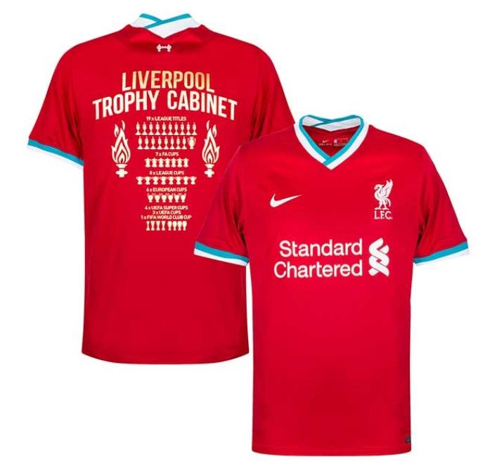 Camisetas Liverpool